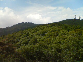 初秋の金剛山