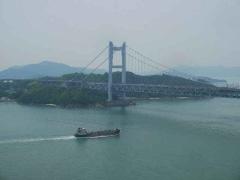 瀬戸大橋と鷲羽山