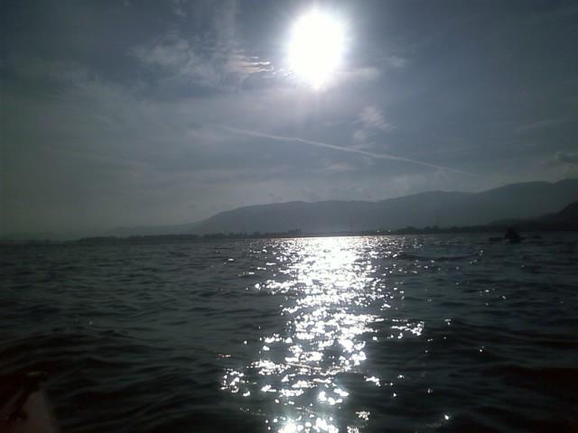 午後のマキノ浜