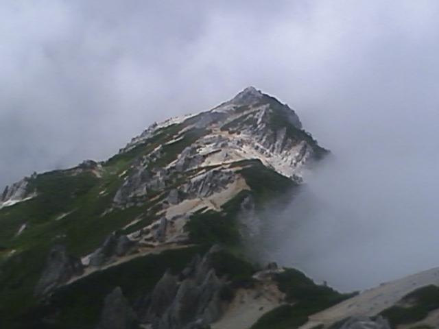 燕岳から常念岳 2009・08 (1)