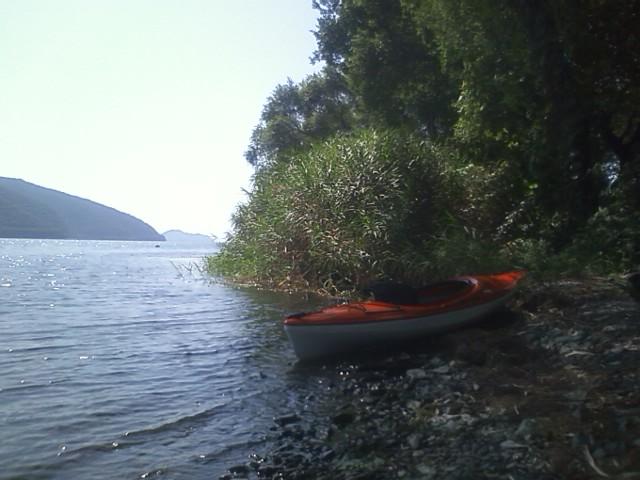 初秋の奥琵琶湖