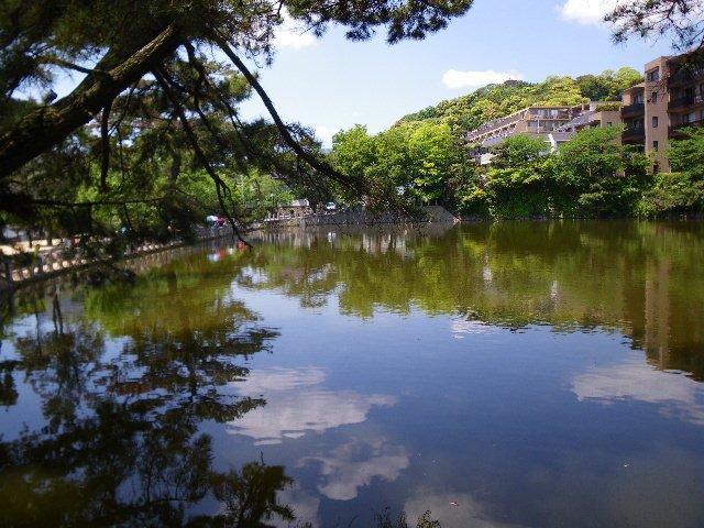 山麓リボンの道ー1(阪急岡本から深田池)