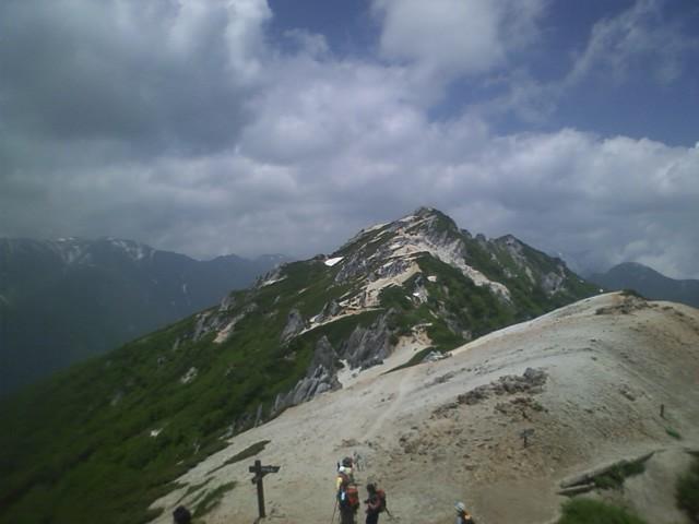 初夏の燕岳2010