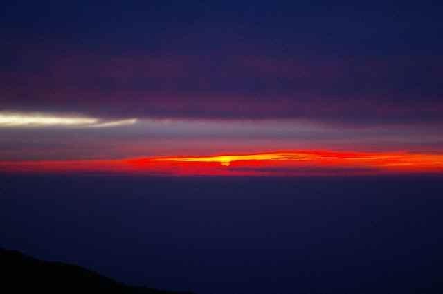 初夏の燕岳2010ー3(2日目・夜明けから下山まで)