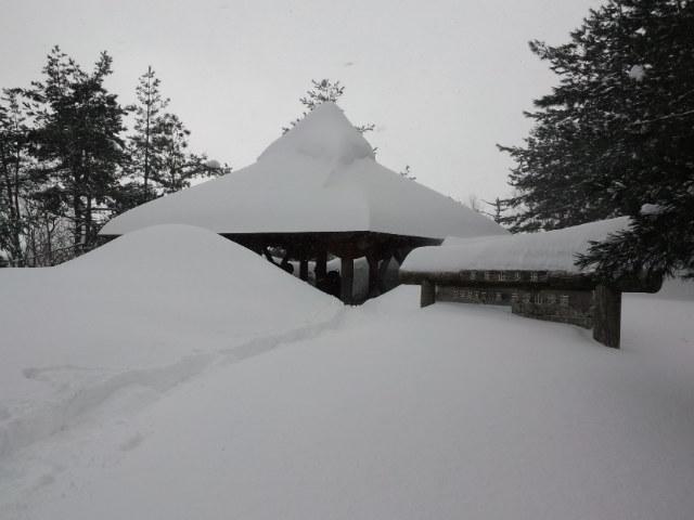 赤坂山スノーハイク