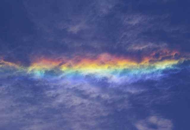 尾瀬の彩雲
