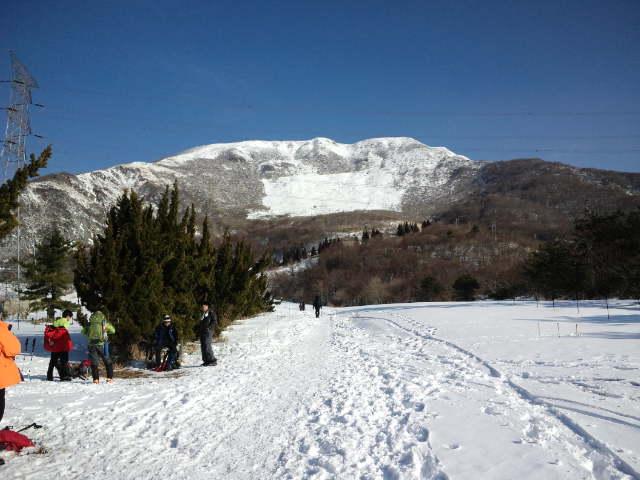 伊吹山スノーハイク 2013