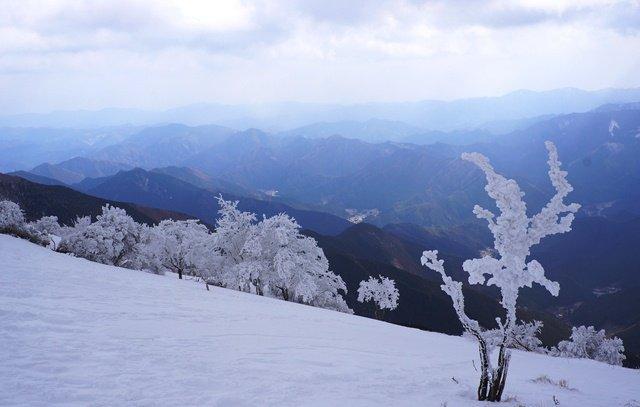 三峰山スノーハイク 2013