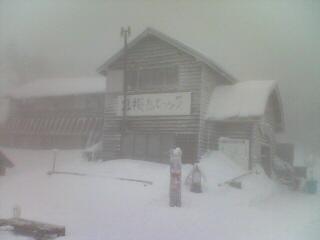 厳冬の北横岳