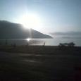 マキノ浜から赤坂山