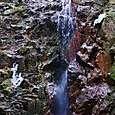 氷柱の無い七曲滝